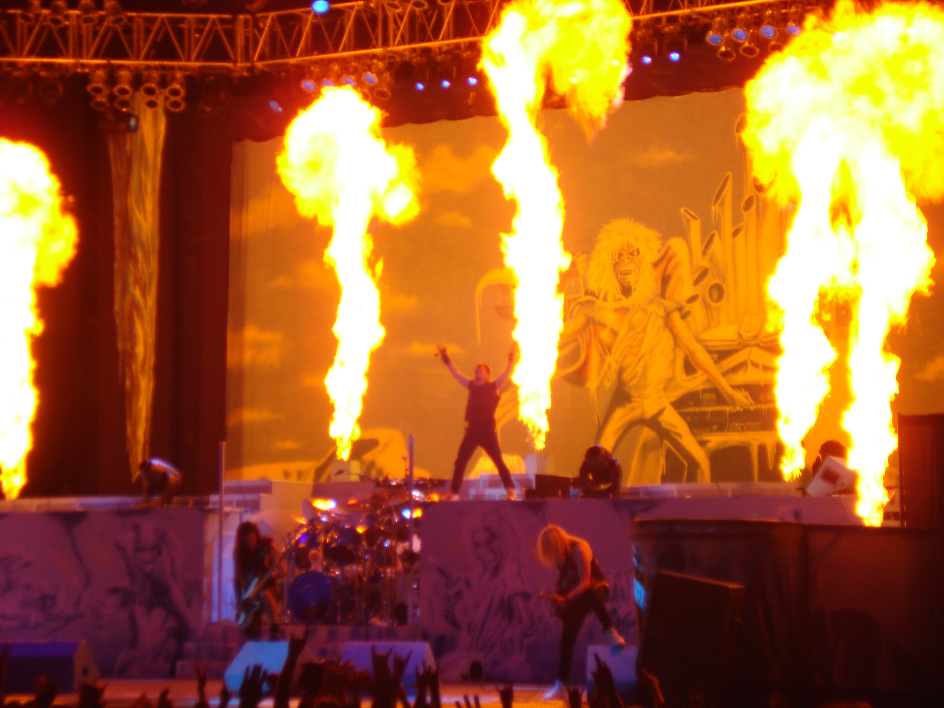 Iron Maiden, Camden NJ 2012