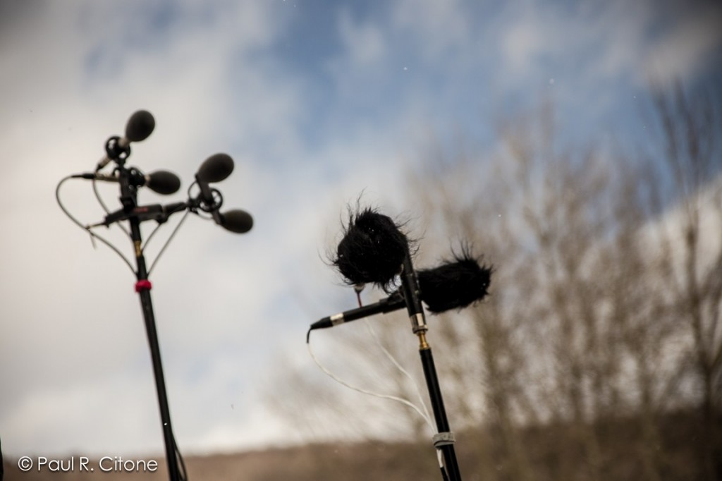 tapers' mics at the Snoe.down Music festival 2013. Photo credit: Paul R. Citone